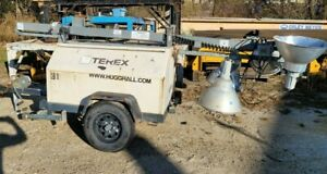 2009 Terex Rl4000 Portable Tower Light W kubota Diesel Engine