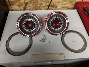 1963 Ford Fairlane 500 Tail Lights Housings And Lenses Lens