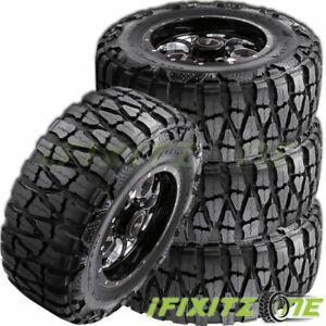 4 Nitto Grappler 35x12 50r17 125p E10 Extreme Terrain Off Road Truck Mud Tires