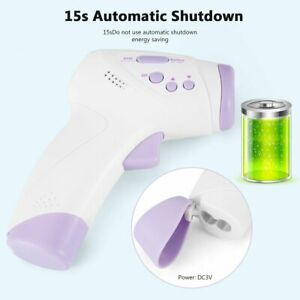 Digital Infrared Thermometer Non contact Baby Adult Forehead Temperature Gun Us