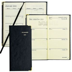 2021 At a glance 70 1110 Fine Diary Weekly Planner 3 1 8 X 6 5 8