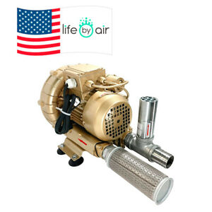 Regenerative Blower Kit Ekz 98 23 Includes Ss Relief Valve And Intake Filter