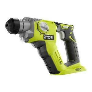 Ryobi 18 volt One Lithium ion Cordless 1 2 In Sds plus Rotary Hammer Drill P22