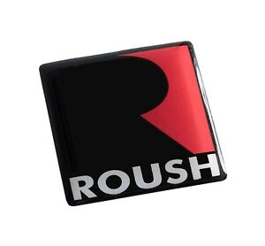 Ford Mustang Roush Stage Rs 1 2 3 Interior Dash Console Emblem 1 14 Black Fits Ford Lightning