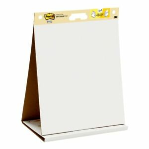 Post it Super Sticky Dry erase Tabletop Easel Pad 20 X 23 20 Sheets