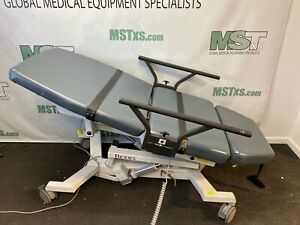 Biodex 058 720 Ultrasound Pro Table W hand Control 2 Blue Medical Healthcare