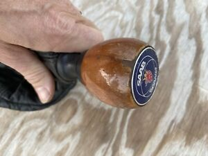 Saab 9000 Wood Shift Knob And Leather Boot