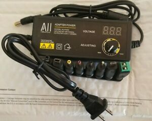 Allover Power 3 24v Adjustable Power Supply Adapter W Led