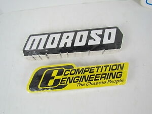 100 Moroso 100 Competition Engineering Performance Drag Racing Decal Stickers