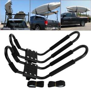 J Bar Rack Hd Kayak Carrier Canoe Boat Surf Ski Roof Top Mount Car Suv Crossbar