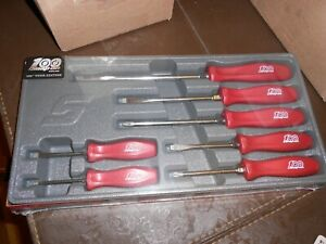 Snap on 100 Anniversary Hard Handle 7pc Screwdriver Set