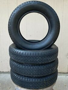 Set Of 4 Vintage Pirelli Cinturato 165 Sr 15 Tires Vw Porsche 356 Sports Cars