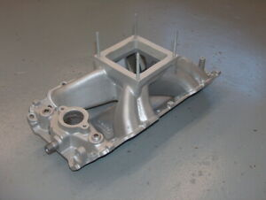 Modified Holley Strip Dominator Bbc Alum Intake Manifold 300 5 Chevy 454 701r 5