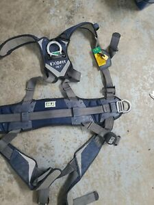 Choose Your Size Dbi Sala Exofit Positioning Safety Harness Worker Tower read