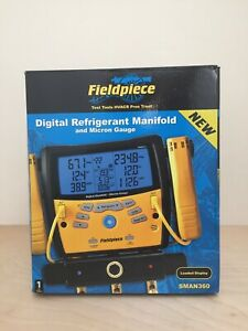 Fieldpiece Sman360 3 port Digital Manifold Micron Gauge new In Box