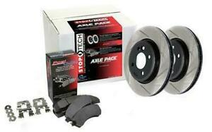 Stoptech Axle Pack Street 937 40019 Front Fits Acura 2004 2008 Tl Brembo