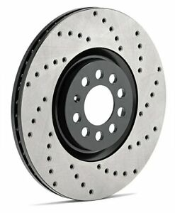Stoptech Brake Rotors Sport Drilled 128 40062l Fits Acura 2004 2008 Tl Po