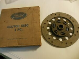 1937 1938 1939 Ford 60 Hp Engine Clutch Disc 8 1 2 Remanufactured By Ford