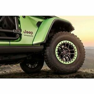 Jeep Beadlock Capable 17x8 5 Wheel With 5 On 5 Bolt Pattern Black