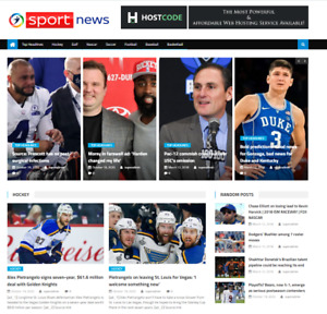 Turnkey Automated Sports News Affiliate Website Free Hosting Setup