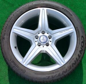 Factory Mercedes Benz S550 Wheels Tires Amg 2013 Set 4 Genuine Oem 19 Cl550 S600