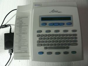 Burdick Atria 3000 Ekg Ecg Machine W Power Supply
