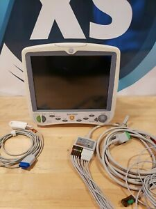 Ge Dash 5000 Patient Monitor Ekg Spo2 Nibp Printer
