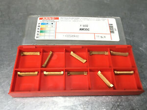 Arno 31602 Am35c Carbide Inserts Grooving 10 Pcs