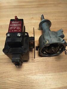 Mopar Mallory Dual Point Distributor And Coil