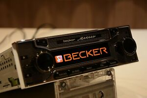 Becker Mexico Classic Vintage Car Radio Be7948 Full Set With Remote Kit For Ipod