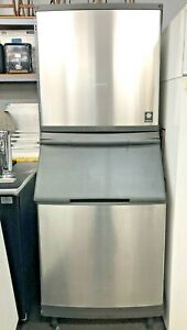 Manitowoc 1060 Lbs half Dice Ice Machine Single Phase Very Nice Machine