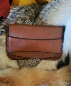 Business Card Holder Handcrafted Leather Card Wallet Simple And Long Lasting