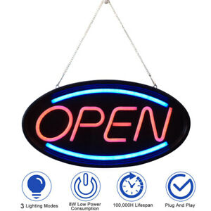 Led Neon Light Animated Motion W On off Business Sign Electric Display Ad Board