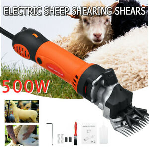 500w Electric Sheep Goat Clipper Groomer Shears Goats Wool Shearing Machine Us