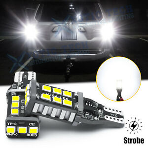 921 912 Led Strobe Flash Backup Reverse Light Bulbs For Toyota 4runner 2001 2020