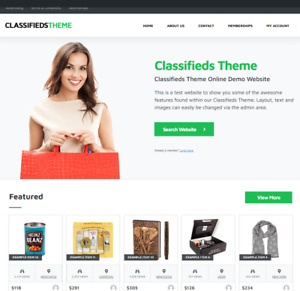 Classified Website Wordpress Website