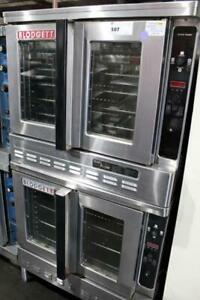 Used Blodgett Dfg 200 Bakery Depth Double Gas Convection Oven