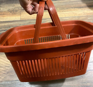 Plastic Grocery Store Market Shopping Basket Eco Environmentally Friendly