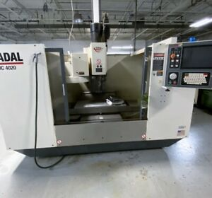 Excellent Fadal Vmc4020ht 3 axis Vertical Machning Center 2007 Lightly Used