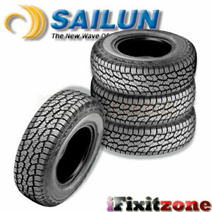 4 Sailun Terramax A t 4s 275 55r20 117t Xl All terrain On off Road Truck Tires