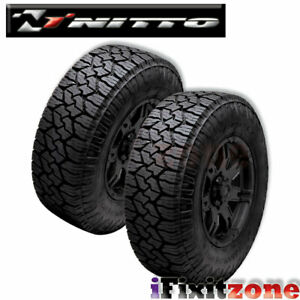 2 Nitto Exo Grappler All Weather Terrain 35x12 50r20lt 121q Truck Suv Lt Tires