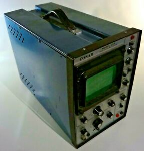 Vintage Conar Model 255 Solid State Oscilloscope