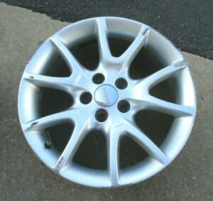 17 2014 15 16 Dodge Dart 5 Double Spoke Silver Painted Wheel Rim
