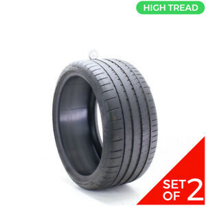 Set Of 2 Used 285 30zr20 Michelin Pilot Super Sport 99y 8 32