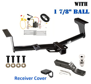 Class 3 Trailer Hitch Package W 1 7 8 Ball Cover For 2006 2012 Toyota Rav4