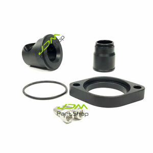 90 Degree Swivel Water Neck Thermostat Housing For Chevy 327 350 454 396 Sbc Bbc