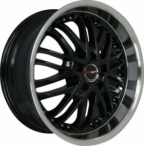 4 G23 20 Inch Black Rims Fits Jeep Grand Cherokee 2000 2019