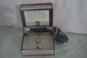 Good Vintage Snap On Tools Secondary Tach Dwell Meter Mt417 Tachometer