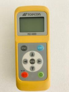 Topcon Rc 400 Remote Control For Rl 200 2s Rotary Laser Level Remote For Rl 200