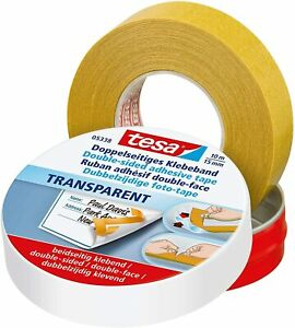 Tesa 05338 Double sided Tape Adhesive On Both Sides 15mm X 10m